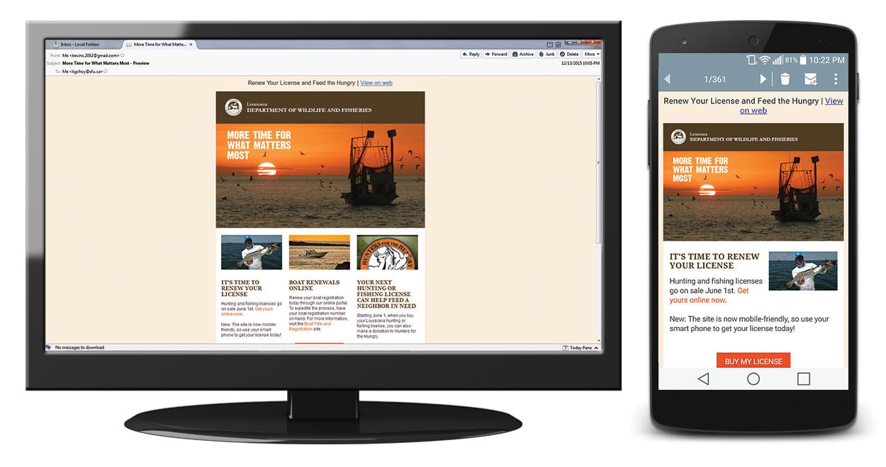 Email 1 screenshots – Mozilla Thunderbird vs. Android